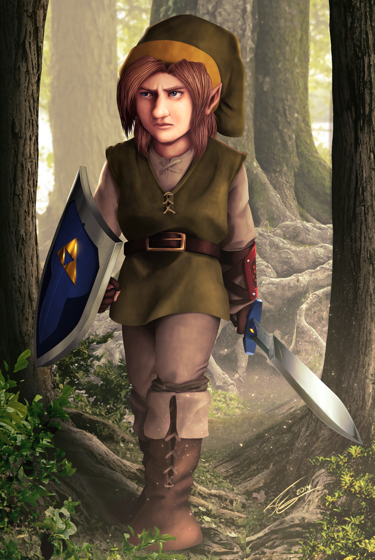 Middle Earth Link ReColored by FrancoFerrari