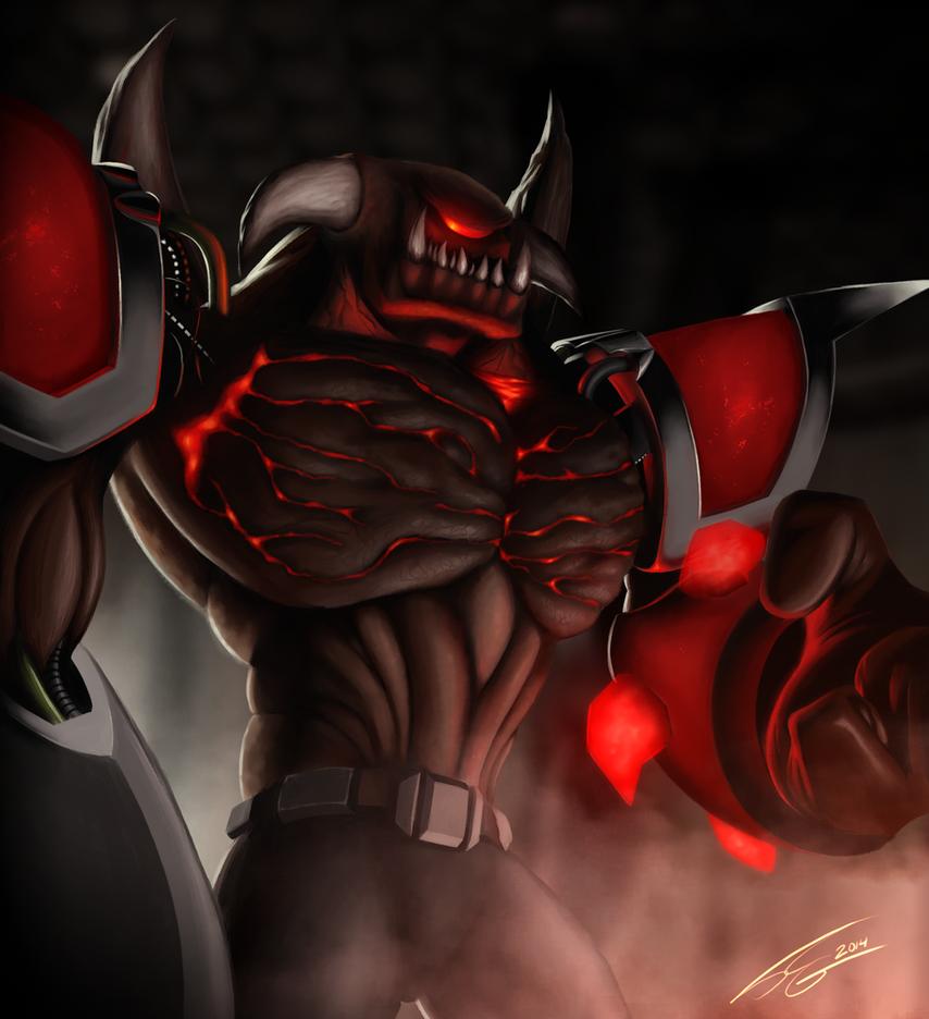 Turok 2 Seeds of Evil - Lord of Flesh by FrancoFerrari