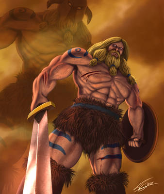 Volgarr The Viking - Unstoppable by FrancoFerrari
