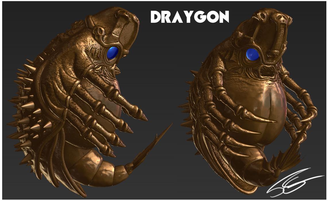 Draygon - Final Sculpt by FrancoFerrari