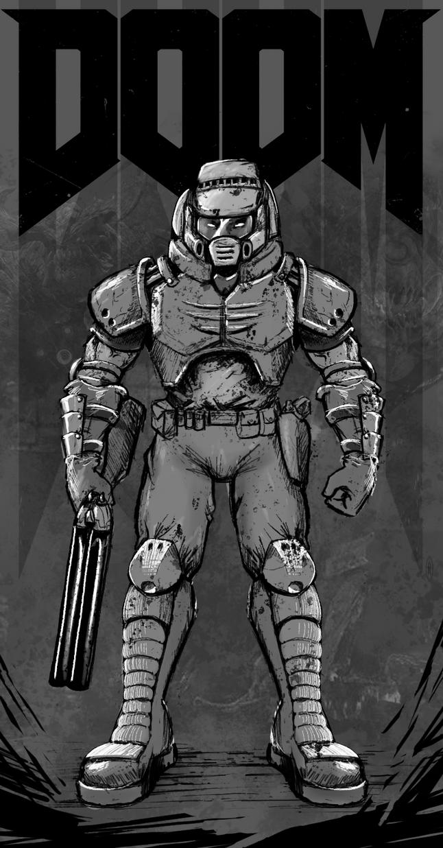 Doom Warrior by FrancoFerrari