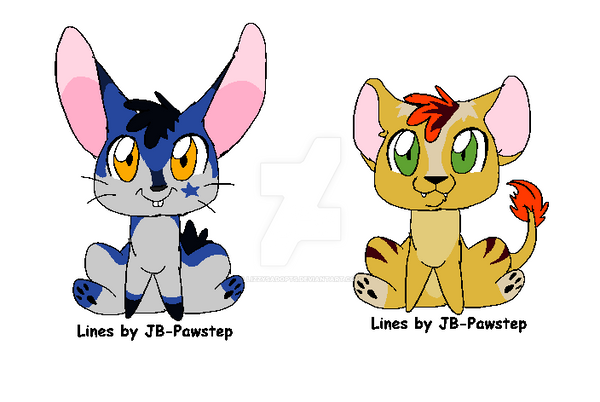 Chibi animals for free by LizzysAdopts