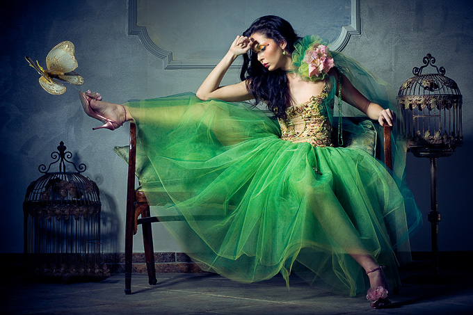 green fairy by matusciac