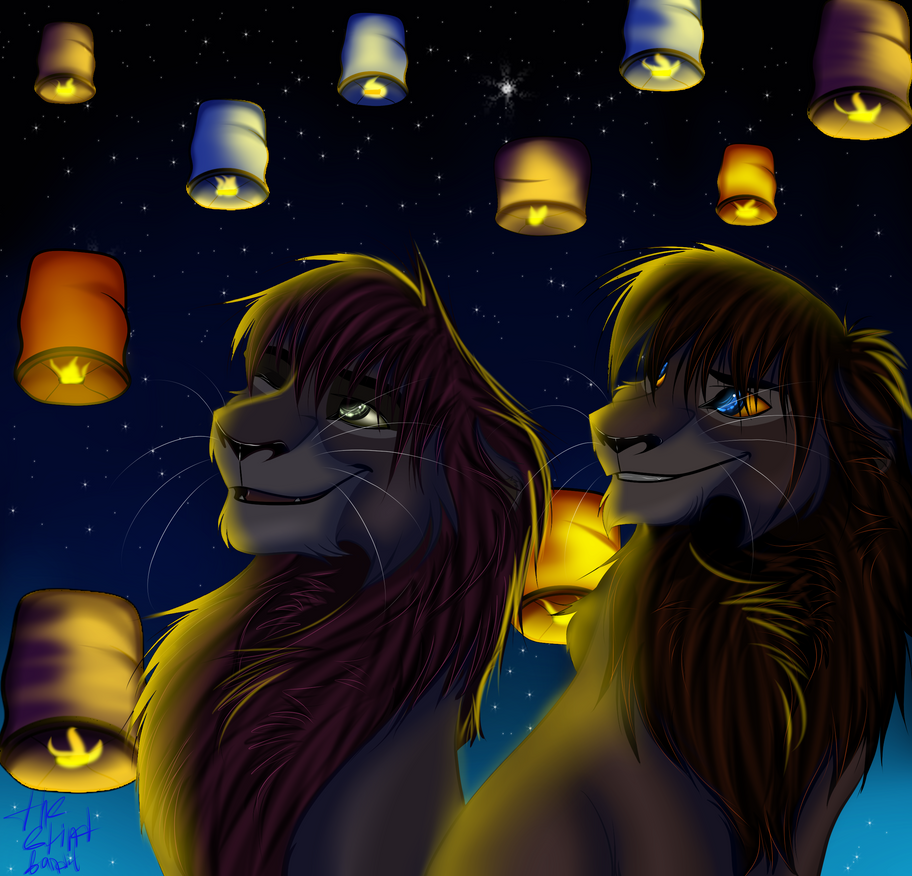 Sky lanterns by SoUrLiMoNFrEsH