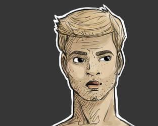 Dean Sketch by SaharaKnoblauch
