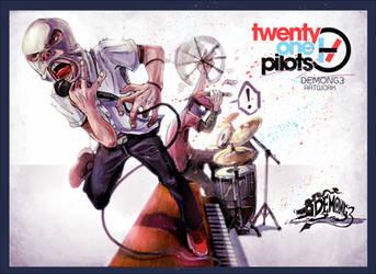 Twenty one pilots by DemonG3