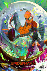 spider-man far from home by DemonG3