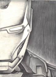 Iron Man in Charcoal by CarlenieBeanie