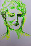Portrait of an unidentified Hellenistic ruler by Portraitgirl2016