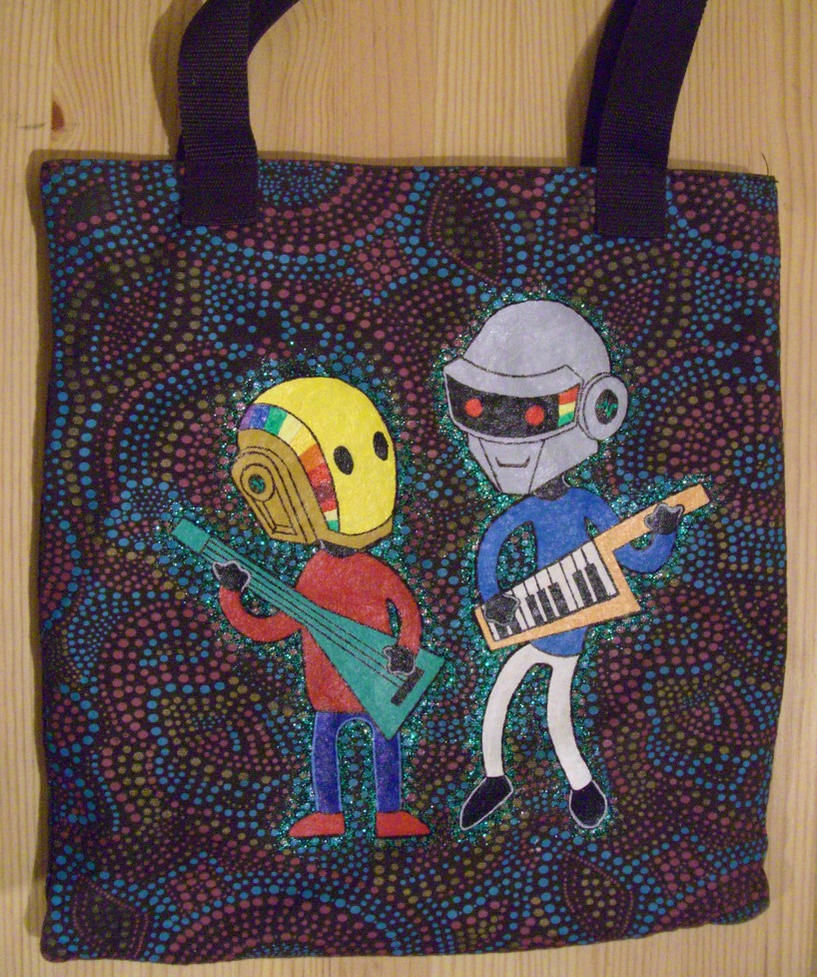 Daft Punk bag 4 by tomatorama