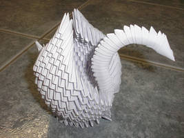 Origami Swan by phissen