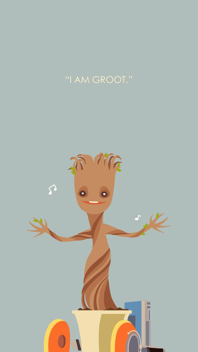 Dancing Baby Groot by Kurtssingh