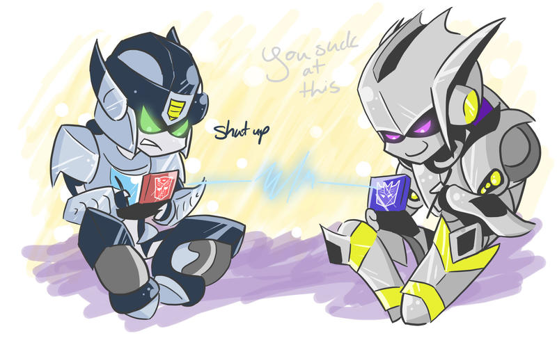 Gamble vs. Sparky by Shioji-san