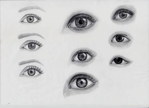 Eye Practise