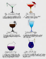 Mages Ball drinks