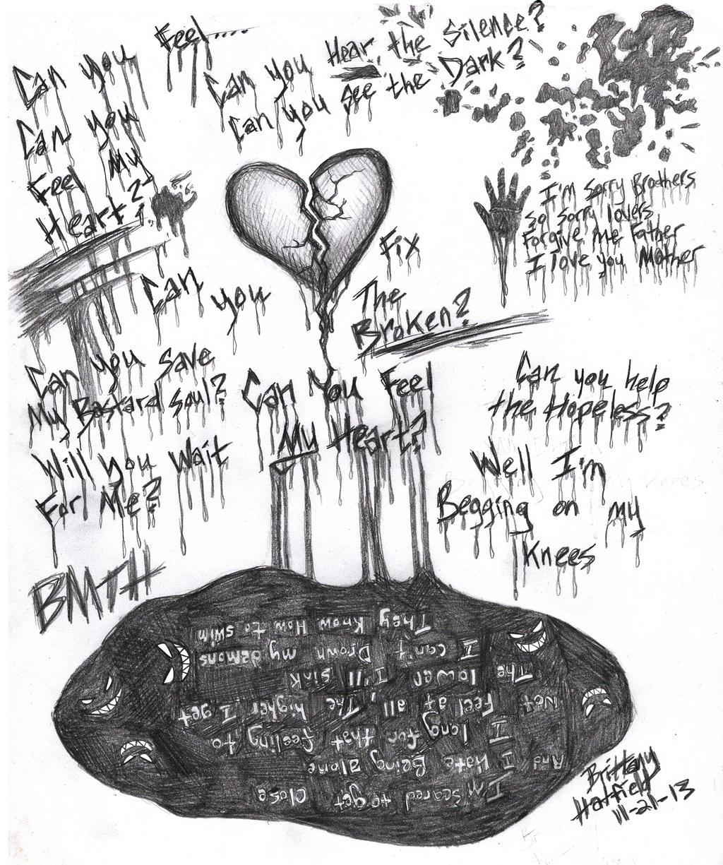 BMTH Can You Feel My Heart By DarkAngel2008 On DeviantArt