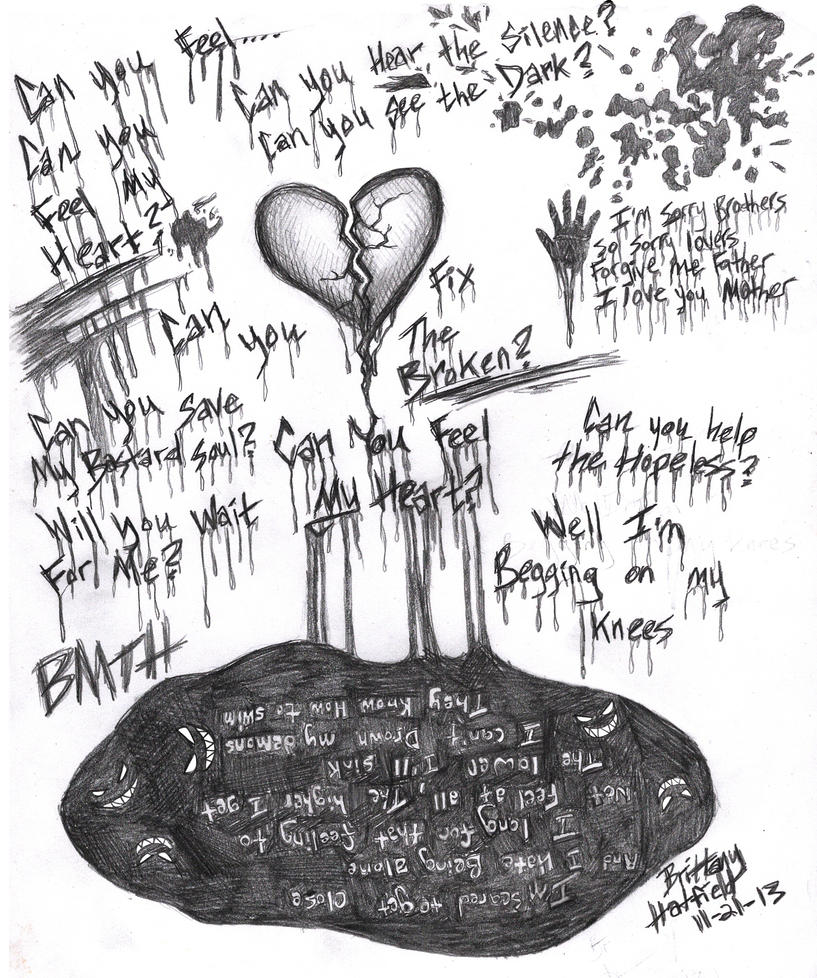BMTH Can You Feel My Heart by DarkAngel2008
