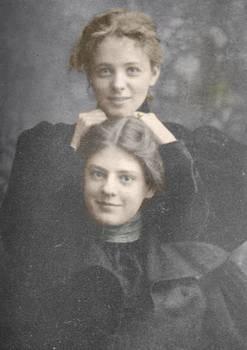 Maude Adams + Ethel Barrymore