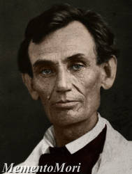 Abraham Lincoln. 1858. by M3ment0M0ri