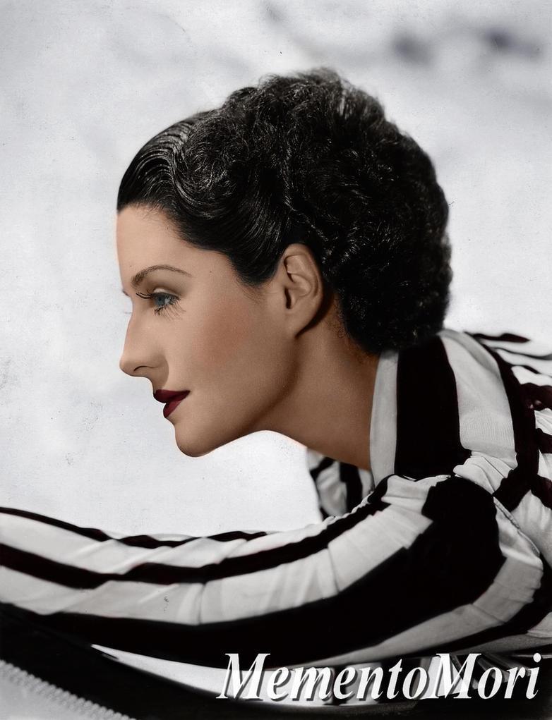 Norma Shearer III by M3ment0M0ri
