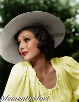 Summertime with Loretta Young