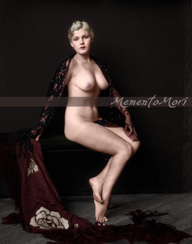 Unknown Ziegfeld girl IV by M3ment0M0ri