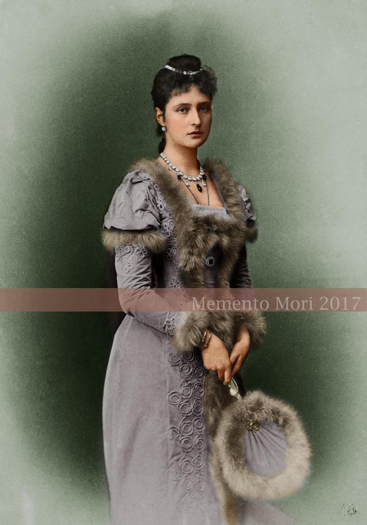 Tsaritsa Alexandra Feodorovna of Russia by M3ment0M0ri