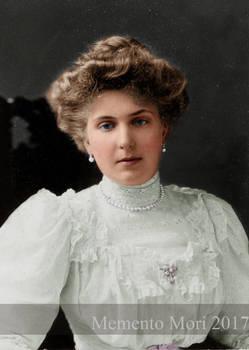 Queen Victoria Eugenia of Spain.