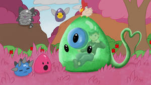 Septic Slime - Slime Rancher by VeloProductions