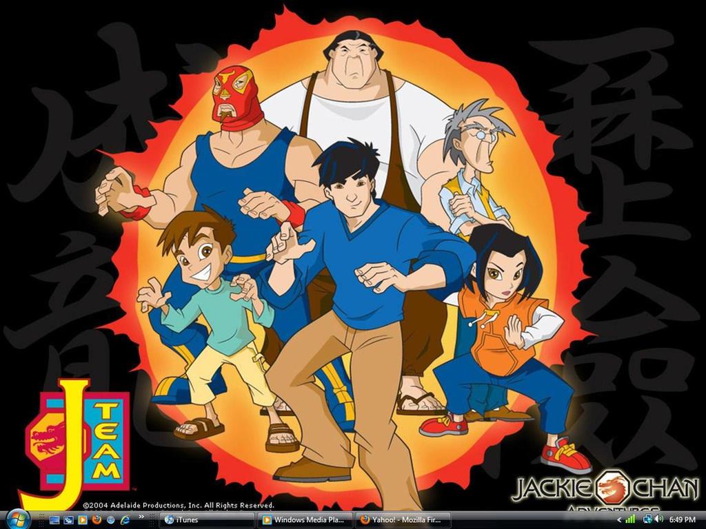 Jackie Chan Adventures Desktop by xXPikaPrincessXx on ...