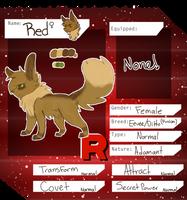Rocket Red ref by feliisvulpes