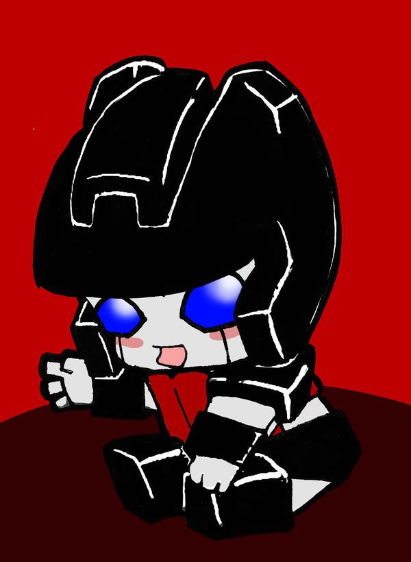 Baby Sideswipe by Transformergirl