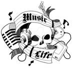 Music is Life Tattoo