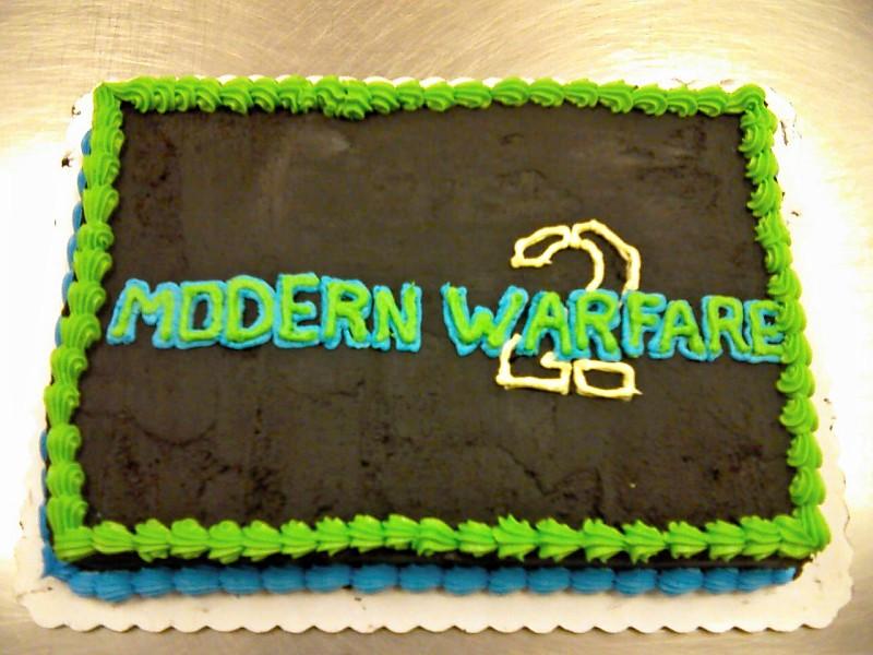 Modern Warfare 2 cake by Transformergirl on DeviantArt