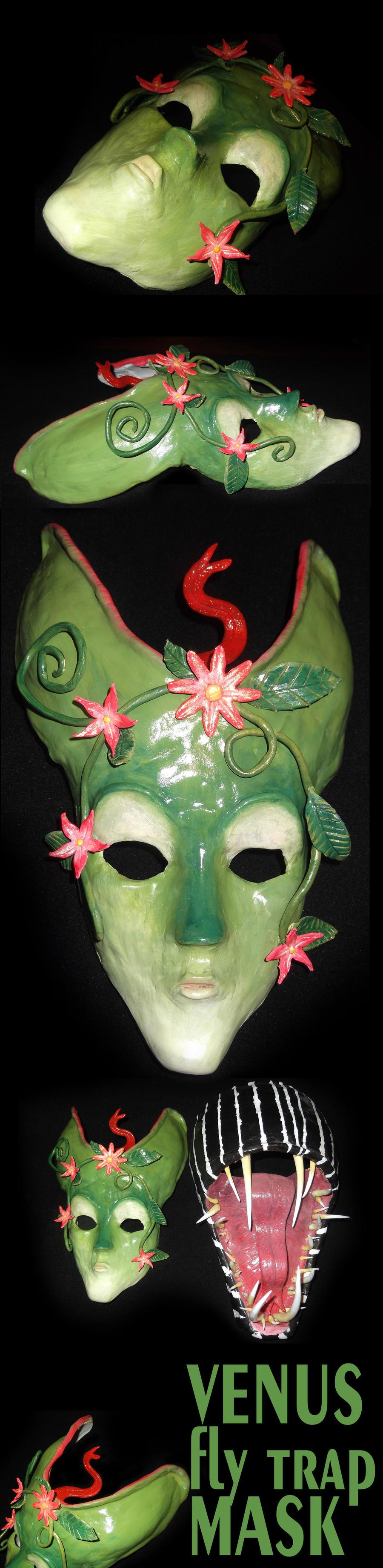 Venus Fly Trap Mask by Transformergirl