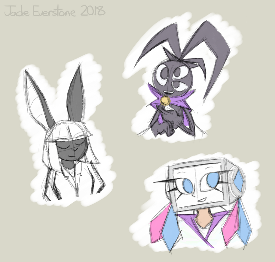 blessed sketches by Jade-Everstone
