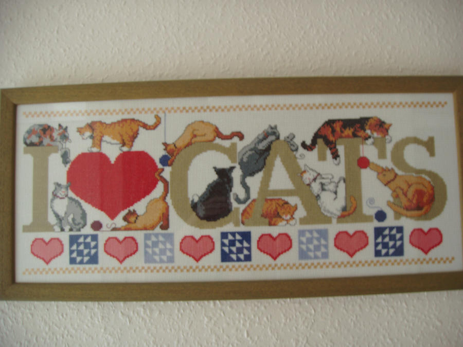 I Love Cats by vgillian