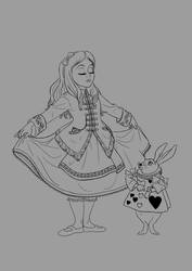 Historically Accurate Alice - WIP by Bambi-Killer