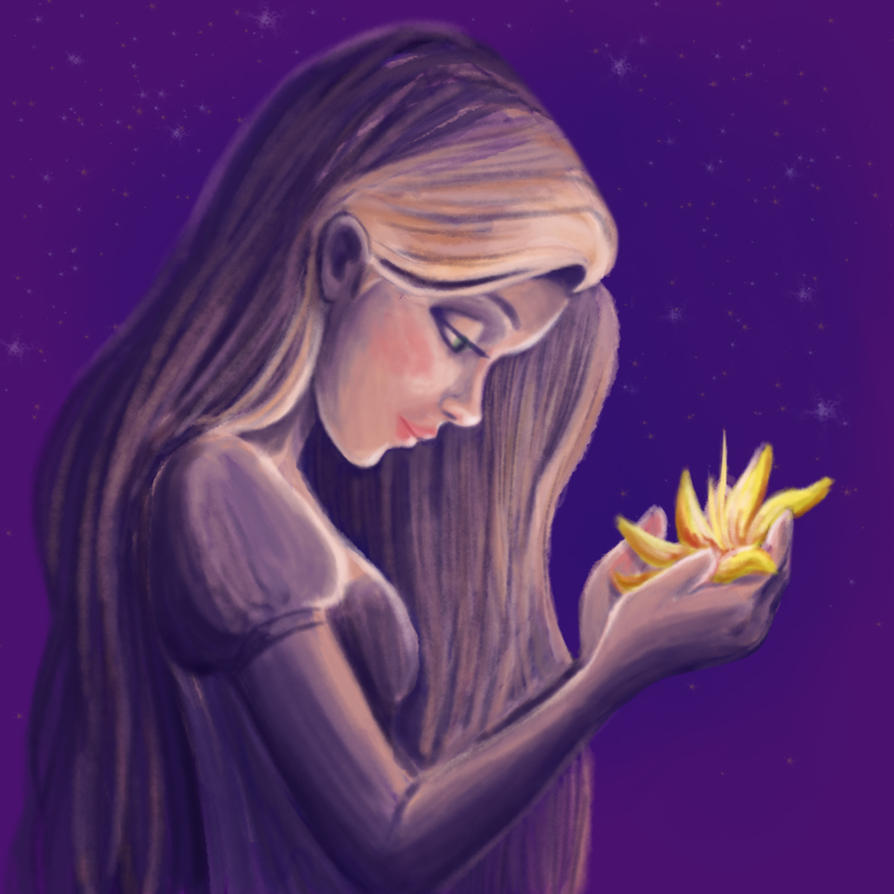 Rapunzel Painting by Bambi-Killer
