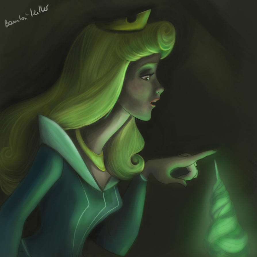 Sleeping Beauty Painting by Bambi-Killer