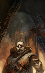 Dwarf Gate Keeper by spinDASH-