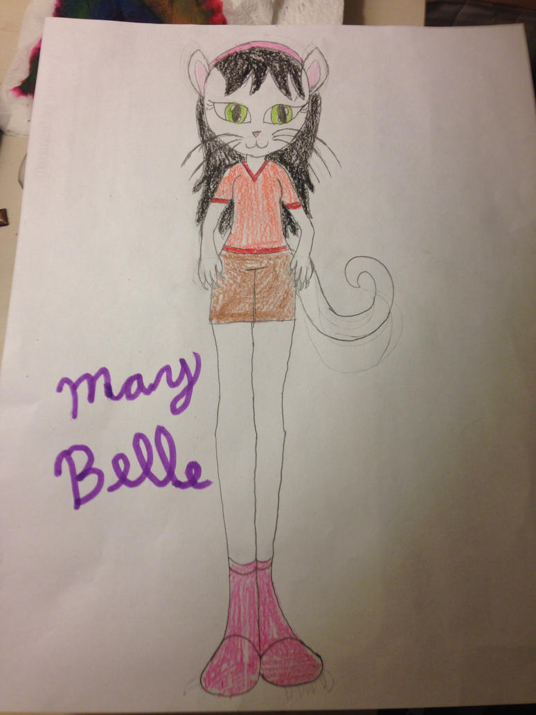 May Belle (my fursona) by pugetteartist550