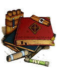 Magic Scrolls and Books