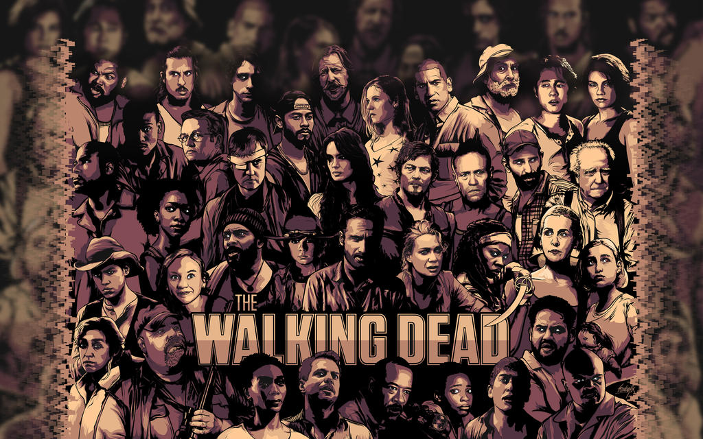 Walking dead wallpaper by nairdacordova on deviantart walking dead wallpaper by nairdacordova voltagebd Gallery