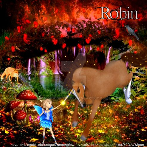 Robin by moonrosy