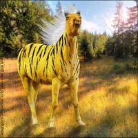 Tiger Pony by moonrosy
