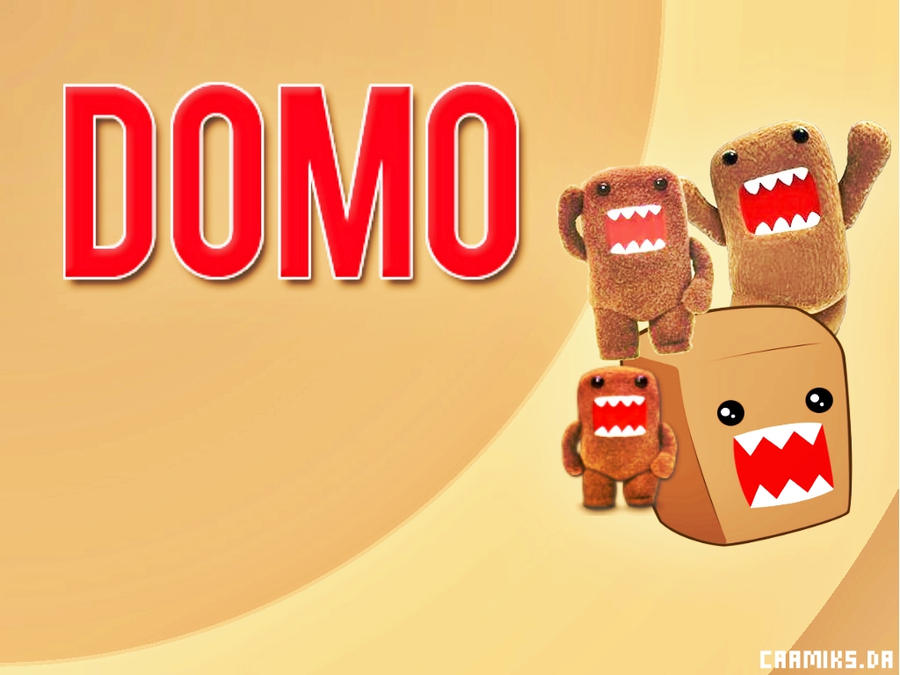 domo wallpaper by caamiks on deviantart