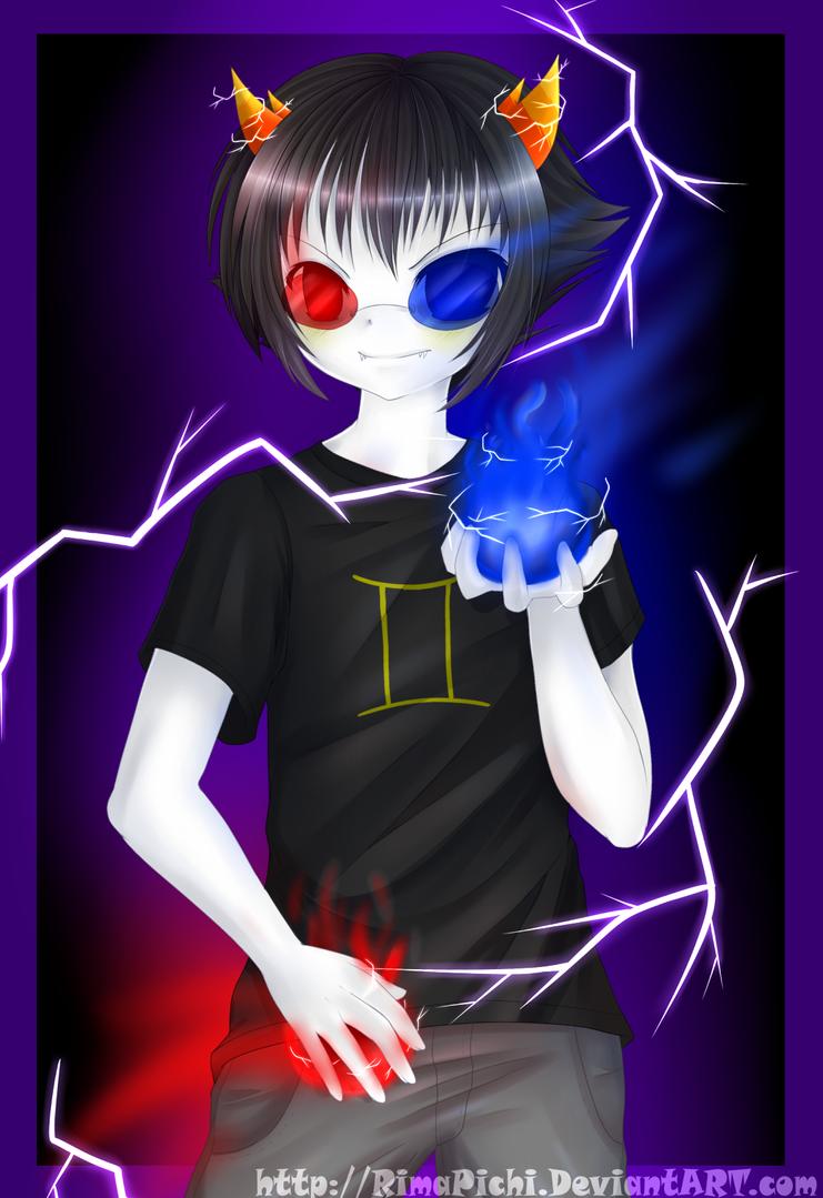 Sollux .:Speedpaint:. by RimaPichi