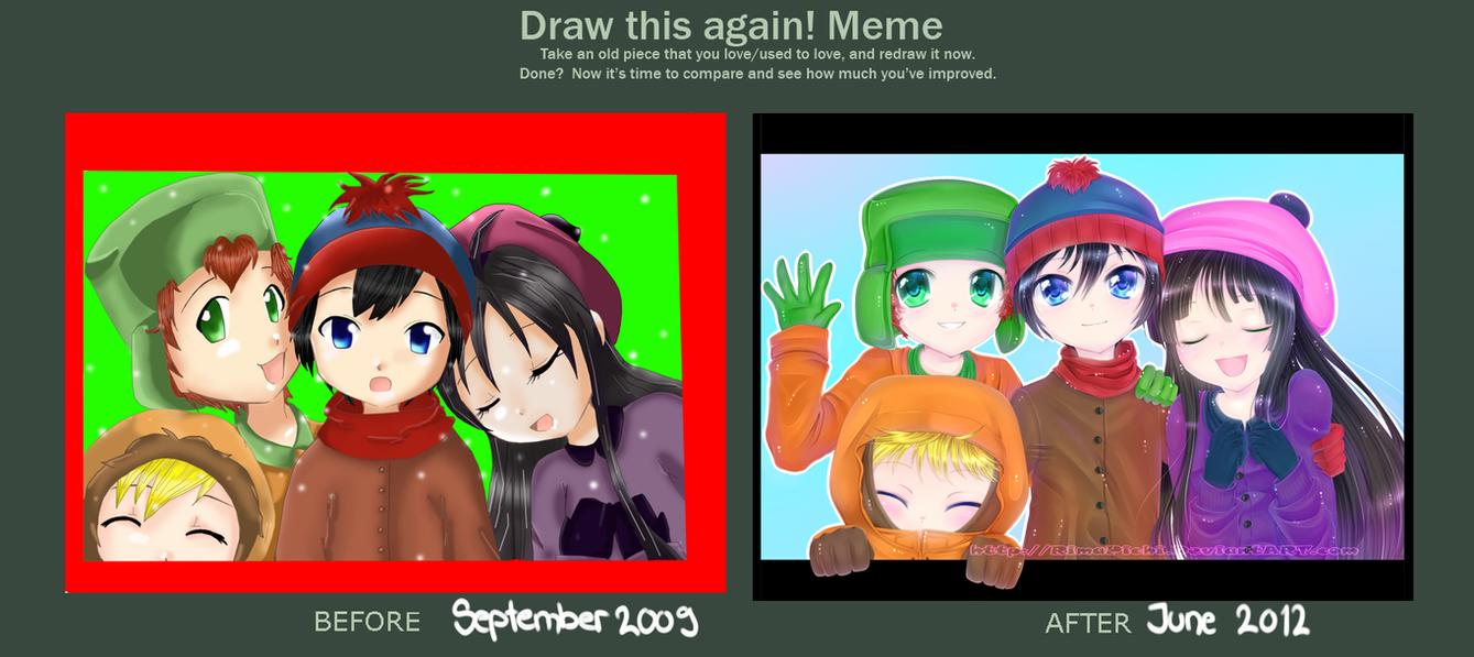 draw_this_again_meme___south_park_by_rimapichi d54o6jm draw this again meme south park by rimapichi on deviantart