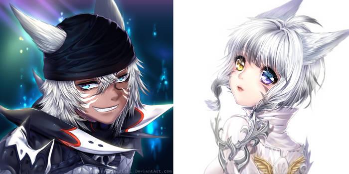 Final Fantasy XIV - Headshots #1